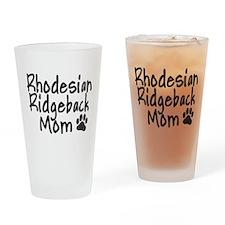 Ridgeback MOM Drinking Glass