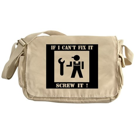 handyman.jpg Messenger Bag