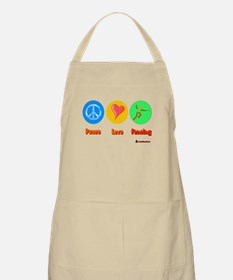 Peace Love Fencing 6000.png Apron