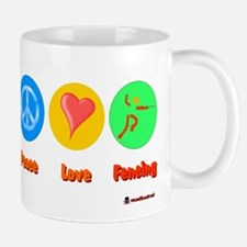 Peace Love Fencing 6000.png Mug