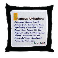 Unitarian 4 Throw Pillow