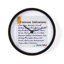 Unitarian 4 Wall Clock