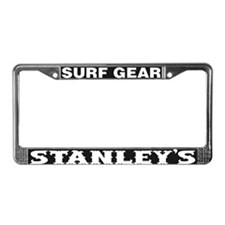 Stanley's Surf Gear License Plate Frame
