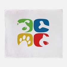 Pets Throw Blanket