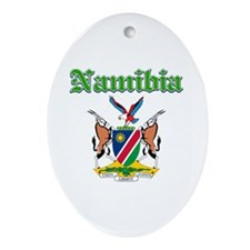Namibia Designs Ornament (Oval)