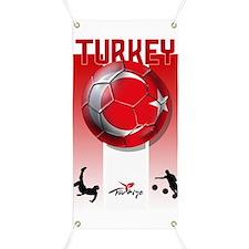 Turkish Football Soccer Banner