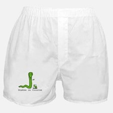 Snakes on Cocaine Boxer Shorts