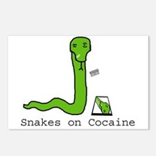 Snakes on Cocaine Postcards (Package of 8)