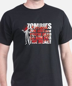 ZOMBIES: ONE BITE AND YOUR DEAD AIM FOR THE HEAD D