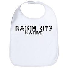 Raisin City Native Bib