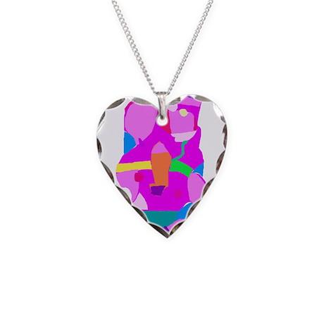 Imagination Necklace Heart Charm