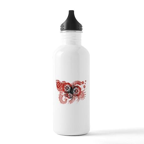 Albania Flag Stainless Water Bottle 1.0L