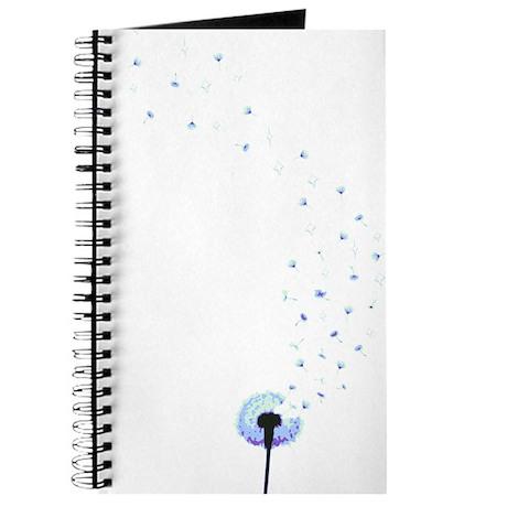 Dandelion seeds blowing in the wind Journal