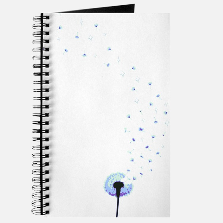 Dandelion seeds blowing in the wind Journal