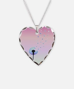 Dandelion seeds blowing in the wind Necklace