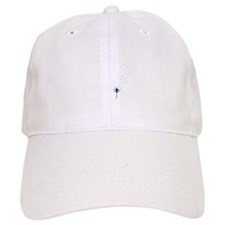 Dandelion seeds blowing in the wind Baseball Cap