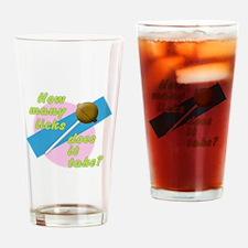 How Many Licks Drinking Glass