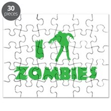 I Love Zombies Puzzle