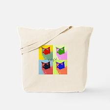 DollyCat Popart - Ragdoll Cat Tote Bag