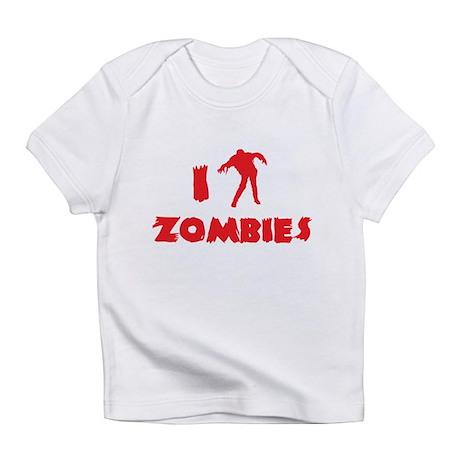 I Love Zombies Infant T-Shirt