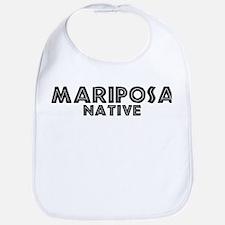 Mariposa Native Bib