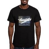 Beechcraft Fitted T-shirts (Dark)
