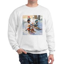 Cats in the Snow Sweatshirt