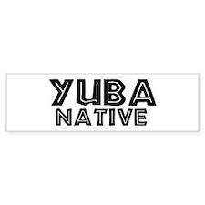 Yuba Native Bumper Bumper Sticker