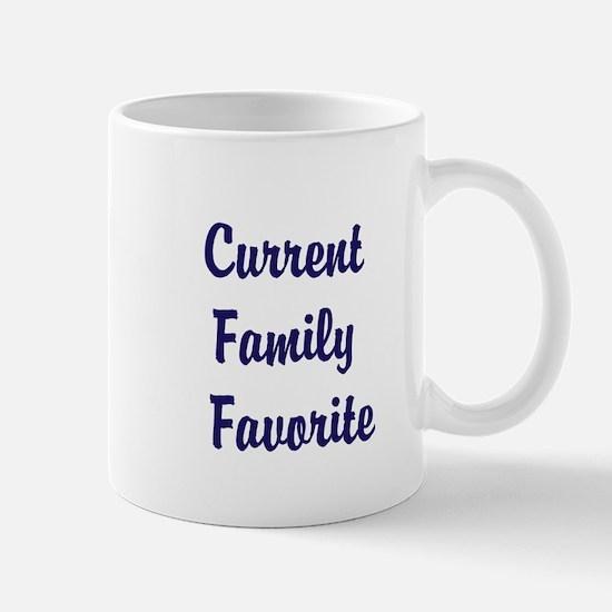 Current Family Favorite Funny Mug