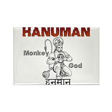 Hindu Hanuman Rectangle Magnet