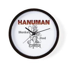 Hindu Hanuman Wall Clock