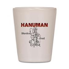 Hindu Hanuman Shot Glass