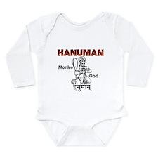 Hindu Hanuman Long Sleeve Infant Bodysuit
