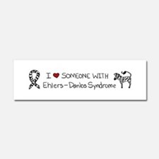 I :heart: Someone With EDS Car Magnet 10 x 3