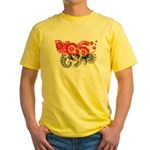 Angola Flag Yellow T-Shirt