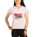 Angola Flag Performance Dry T-Shirt