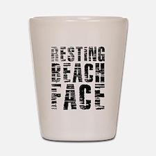 Resting Beach Face Shot Glass