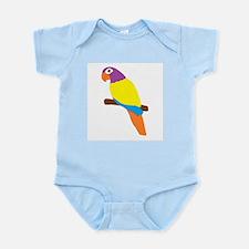 Parrot Bird Design Infant Bodysuit