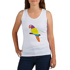 Parrot Bird Design Women's Tank Top