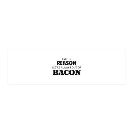 Bacon 21x7 Wall Peel