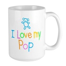 I Love My Pop Mug