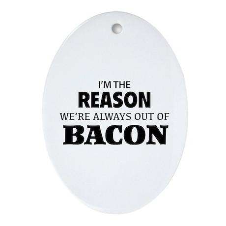 Bacon Ornament (Oval)