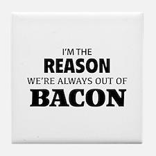 Bacon Tile Coaster