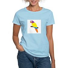 Parrot Bird Design T-Shirt