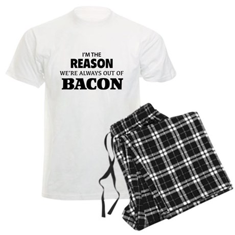 Bacon Men's Light Pajamas