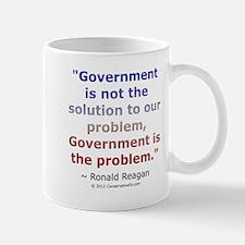 Ronald Reagan on Government Mug