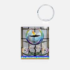 Unitarian 5 Keychains
