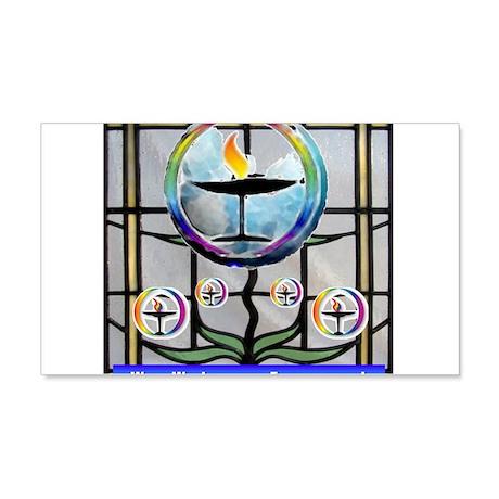 Unitarian 5 22x14 Wall Peel