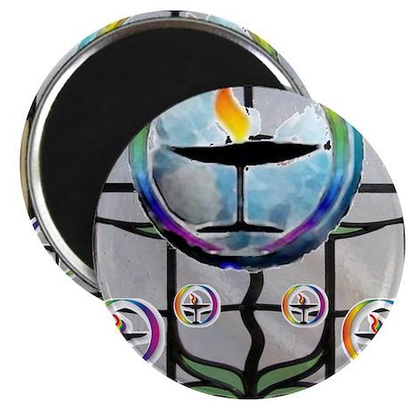 """Unitarian 5 2.25"""" Magnet (100 pack)"""