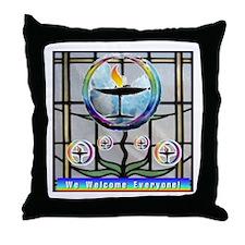 Unitarian 5 Throw Pillow